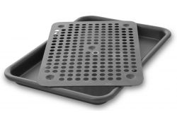 Quarter Sheet Pan Oven Roaster Set